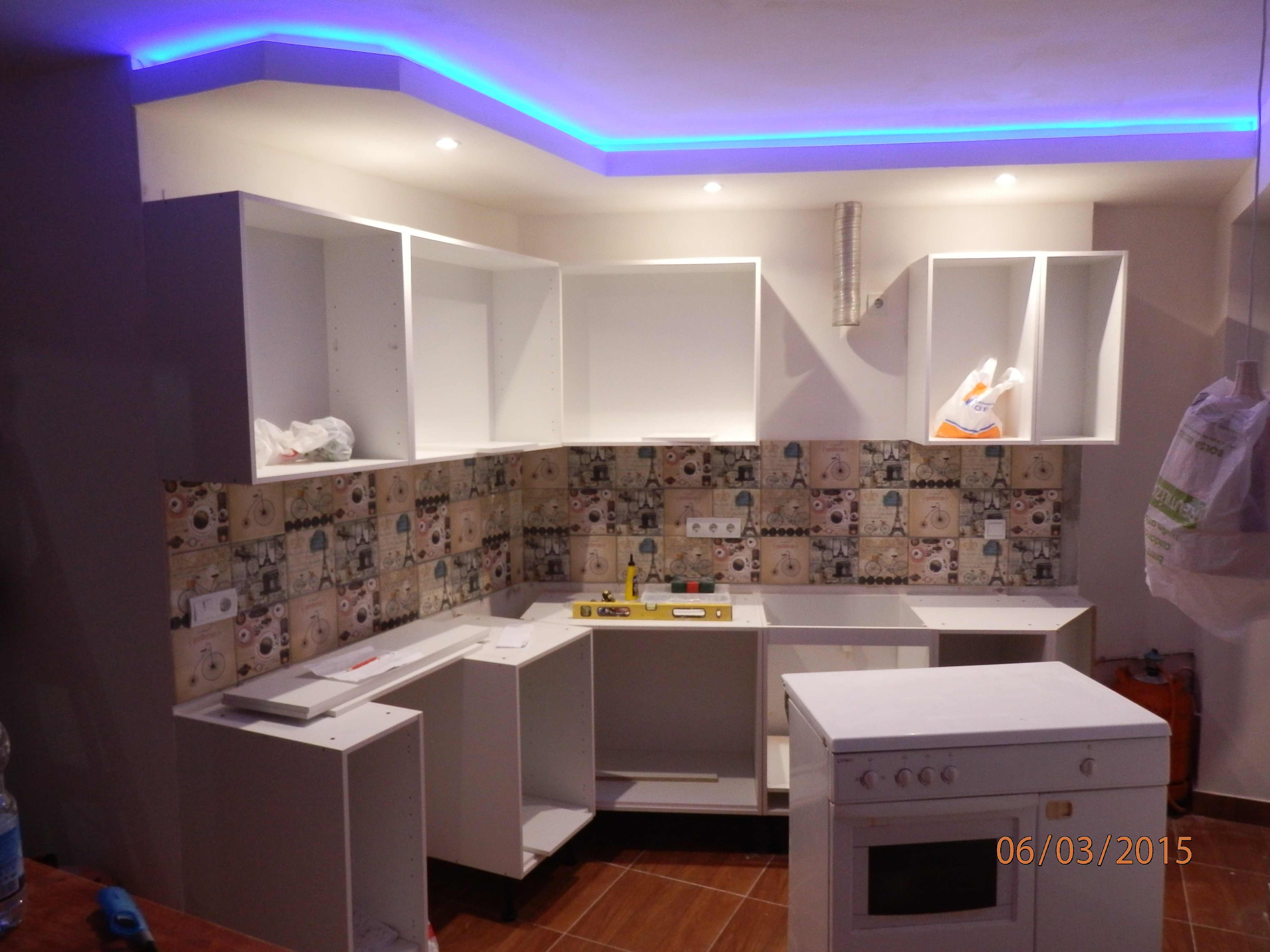 C mo arreglar las paredes y techos con pladur reformaster for Terminaciones de techos interiores