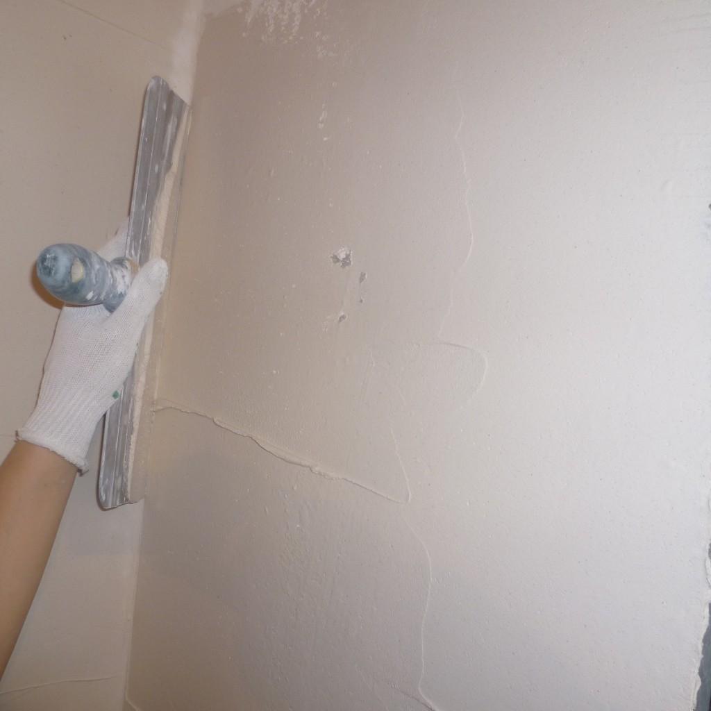 Como alisar paredes de gotele - Como alisar paredes ...