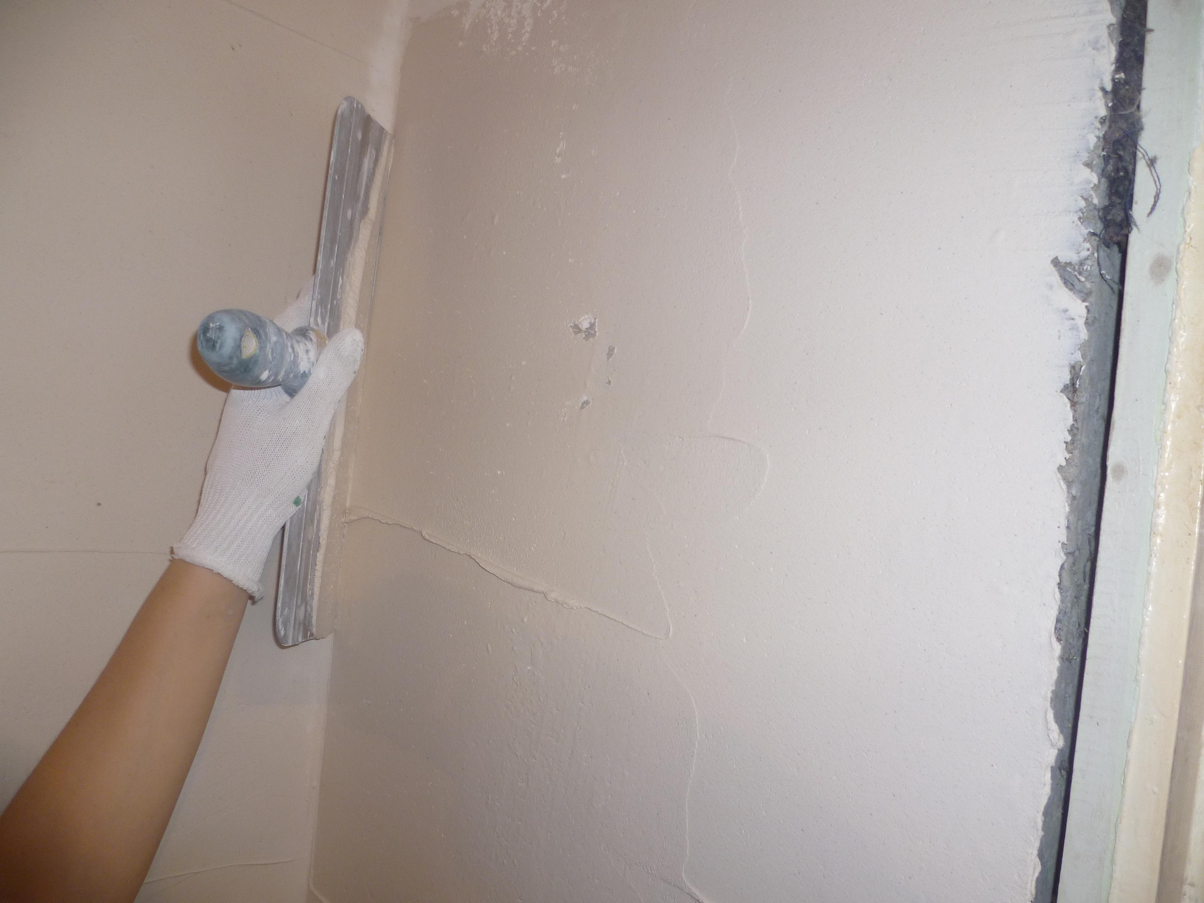 Como alisar paredes de gotele - Alisar paredes de gotele ...