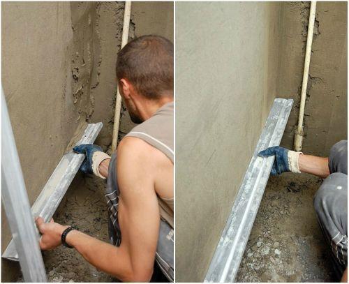 Как выровнять внутренние углы стен своими руками 76