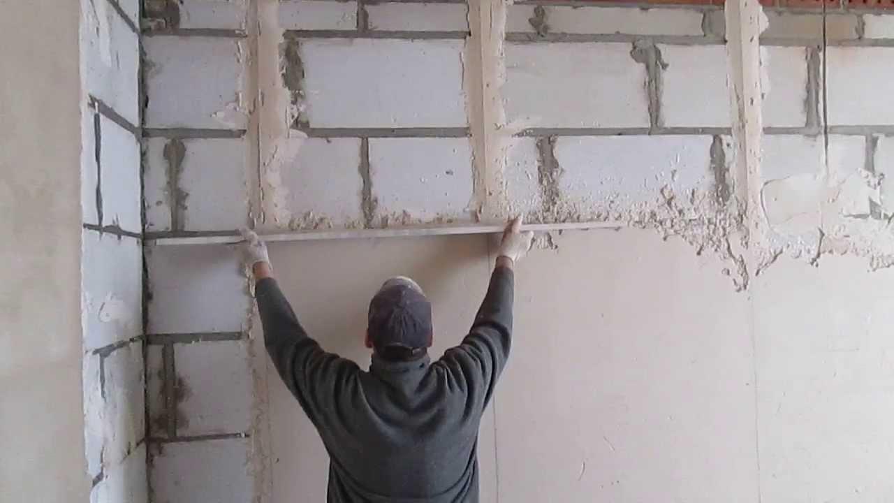 C mo enlucir paredes con yeso 9 pasos b sicos reformaster - Colocar piedra en pared ...