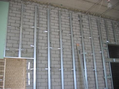 C mo arreglar las paredes y techos con pladur reformaster - Como hacer una pared de pladur ...