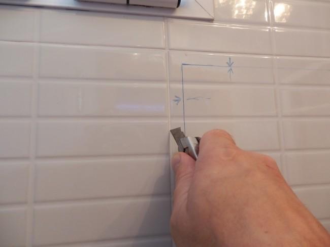 Quitar azulejos sin obra antes y despues de una cocina - Limpiar juntas azulejos ducha ...
