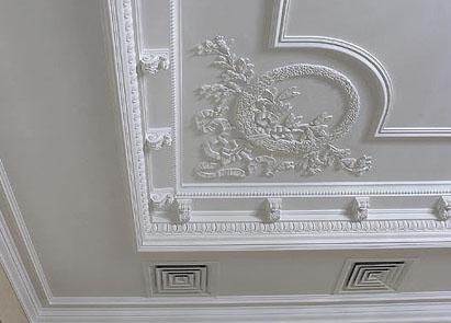C mo reparar las molduras reformaster - Pegamento de escayola para alisar paredes ...