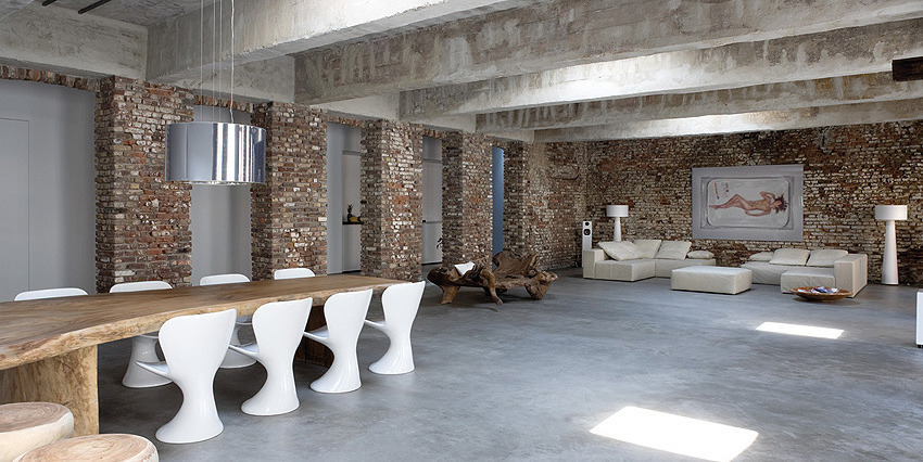 Concreto en dise o de interiores reformaster for Suelos de cemento para interiores