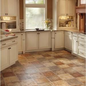 c mo elegir el suelo para la cocina reformaster On losetas vinilo pared cocina