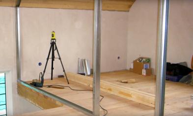 C mo hacer una pared de pladur para dividir habitaci nes for Habitacion que utiliza un conserje