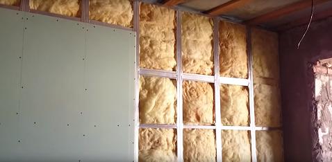 C mo hacer una pared de pladur para dividir habitaci nes - Aislamiento acustico paredes ...