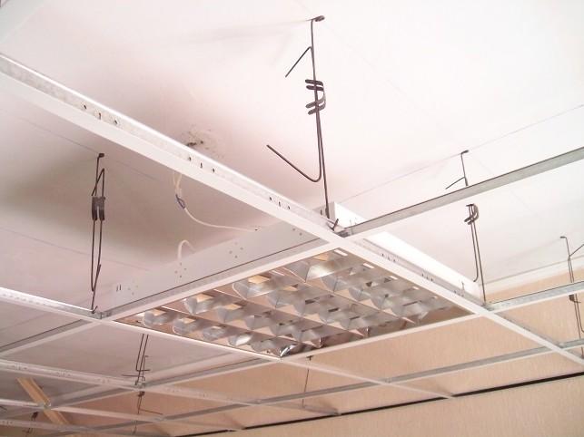 C mo instalar un falso techo registrable reformaster for Como poner chirok en el techo