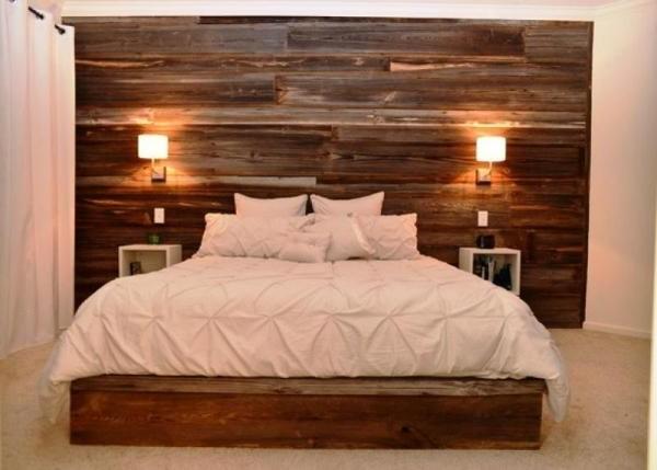 C mo colocar la tarima flotante en la pared momentos Revestimiento para paredes dormitorios