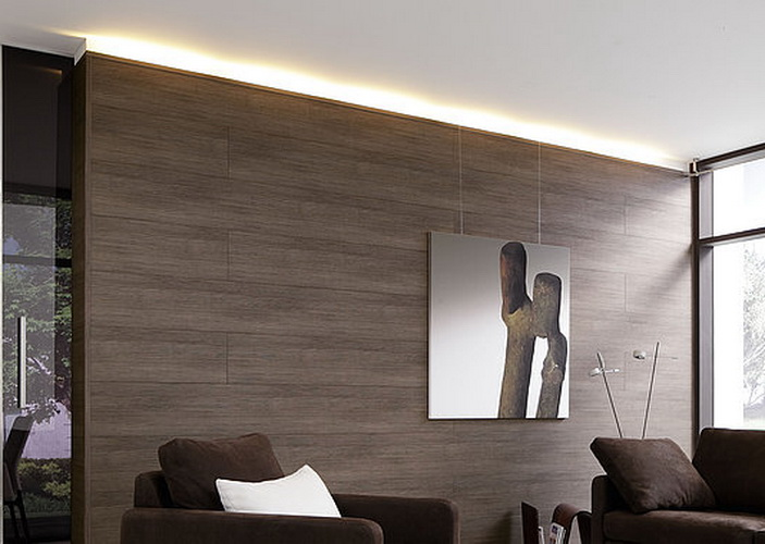 C mo colocar la tarima flotante en la pared momentos for Paredes forradas de madera