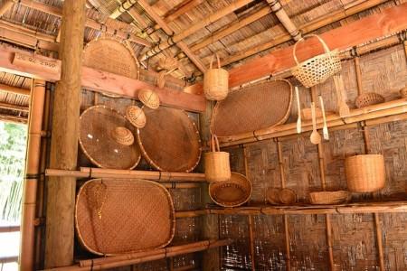 revestimiento de bambú