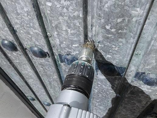 Como quitar pintura del hierro pintura fachada varios for Como quitar pintura de agua del piso