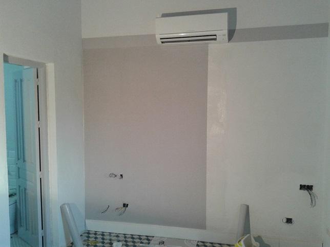 empapelar las paredes