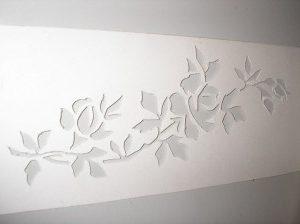 hacer un dibujo sobre azulejos