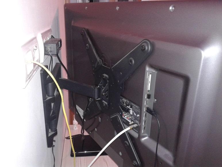 C mo colgar el televisor en la pared de pladur reformaster - Proyectar en la pared ...