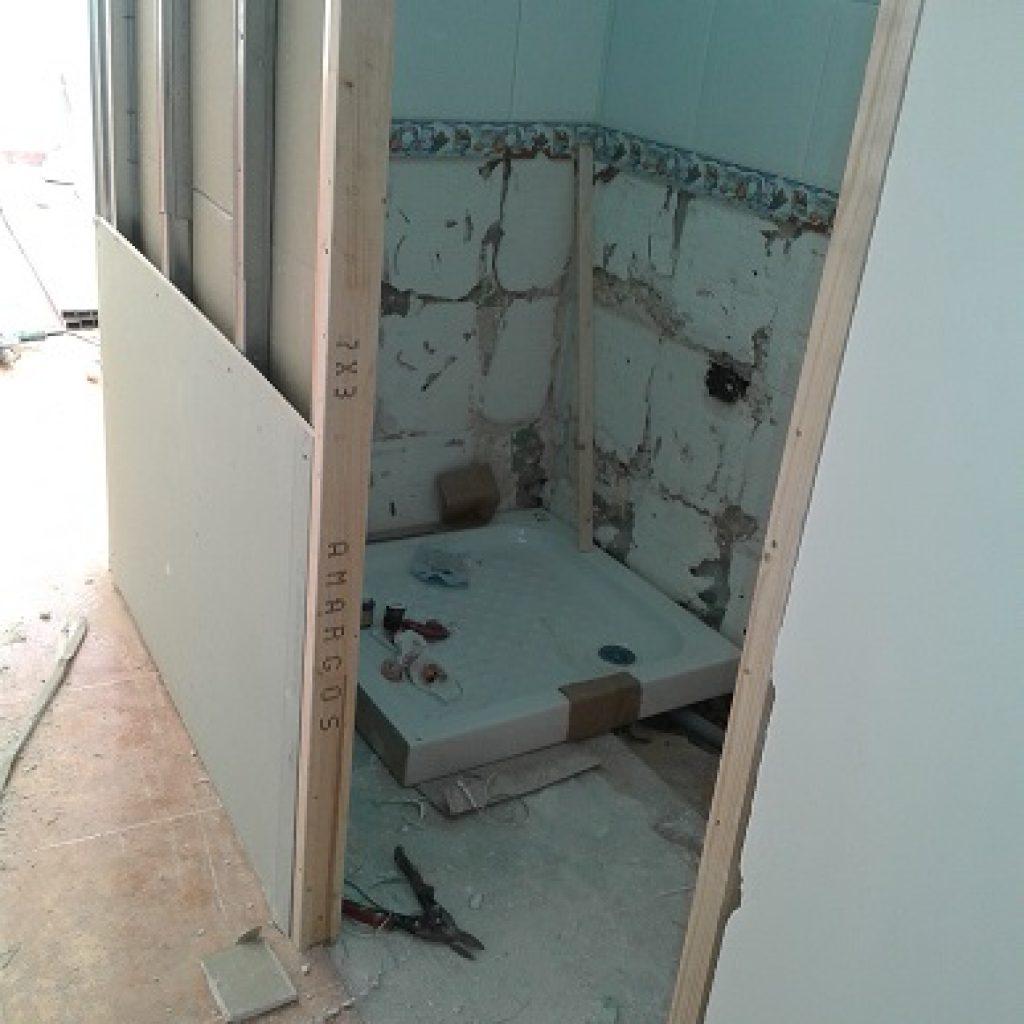 Reforma baño con pladur - grandes posibilidades en el diseño ...