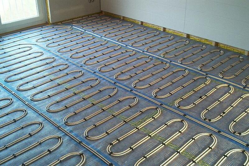 reemplazar los radiadores de calefacción por suelo radiante