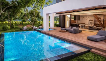 ¿Qué necesito para construir una piscina en el jardín?